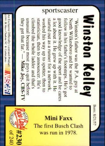 1991-Maxx-Auto-Racing-Cards-1-240-Rookies-A2705-You-Pick-10-FREE-SHIP thumbnail 460