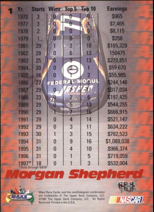 1997-Maxx-Auto-Racing-Cards-1-120-Rookies-A3252-You-Pick-10-FREE-SHIP thumbnail 3