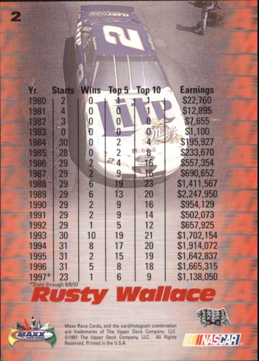 1997-Maxx-Auto-Racing-Cards-1-120-Rookies-A3252-You-Pick-10-FREE-SHIP thumbnail 5