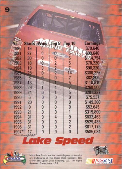1997-Maxx-Auto-Racing-Cards-1-120-Rookies-A3252-You-Pick-10-FREE-SHIP thumbnail 19