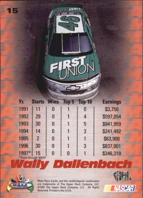 1997-Maxx-Auto-Racing-Cards-1-120-Rookies-A3252-You-Pick-10-FREE-SHIP thumbnail 31