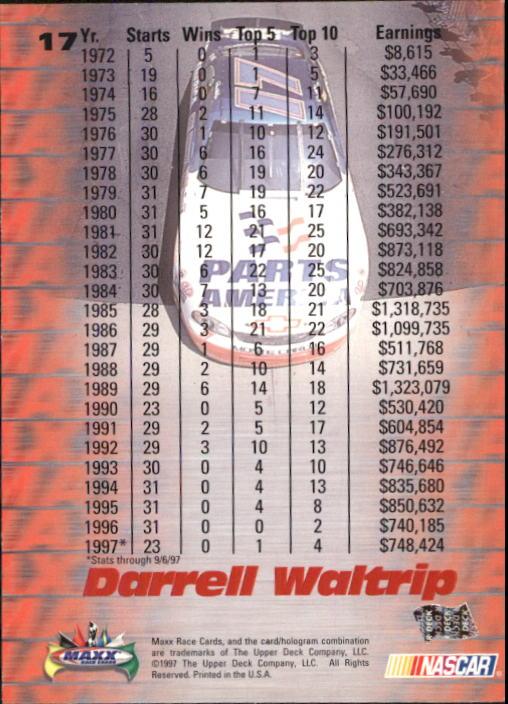 1997-Maxx-Auto-Racing-Cards-1-120-Rookies-A3252-You-Pick-10-FREE-SHIP thumbnail 35
