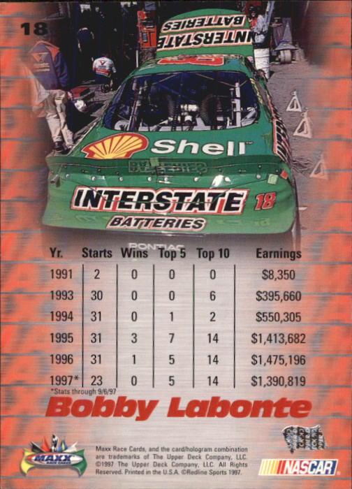 1997-Maxx-Auto-Racing-Cards-1-120-Rookies-A3252-You-Pick-10-FREE-SHIP thumbnail 37
