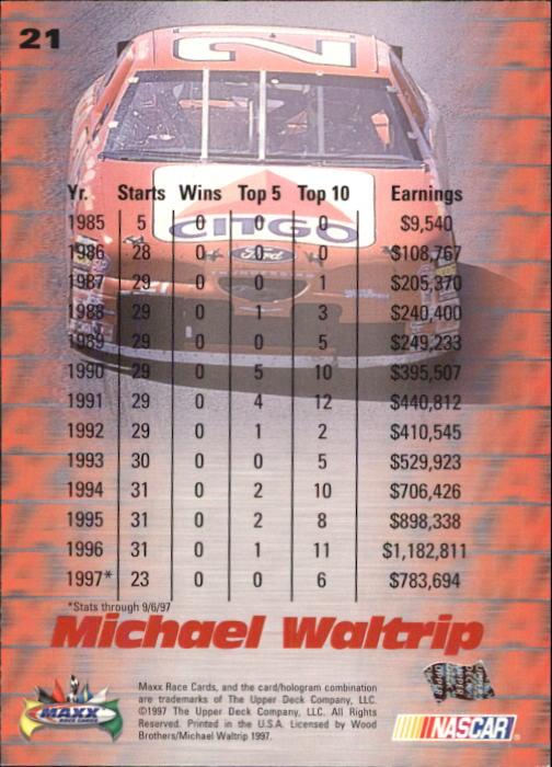 1997-Maxx-Auto-Racing-Cards-1-120-Rookies-A3252-You-Pick-10-FREE-SHIP thumbnail 43