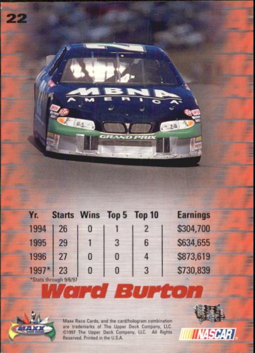 1997-Maxx-Auto-Racing-Cards-1-120-Rookies-A3252-You-Pick-10-FREE-SHIP thumbnail 45