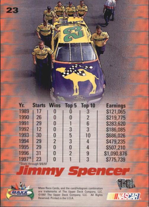 1997-Maxx-Auto-Racing-Cards-1-120-Rookies-A3252-You-Pick-10-FREE-SHIP thumbnail 47