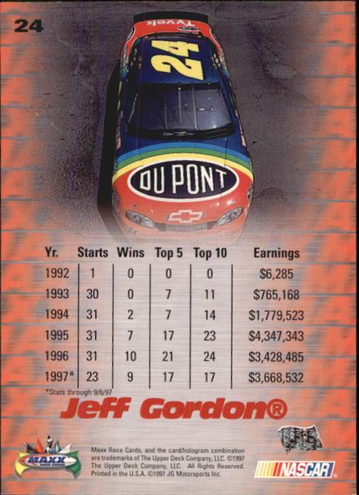 1997-Maxx-Auto-Racing-Cards-1-120-Rookies-A3252-You-Pick-10-FREE-SHIP thumbnail 49