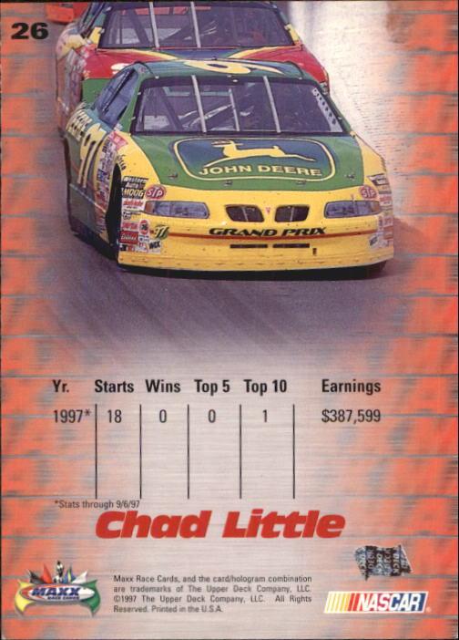 1997-Maxx-Auto-Racing-Cards-1-120-Rookies-A3252-You-Pick-10-FREE-SHIP thumbnail 53