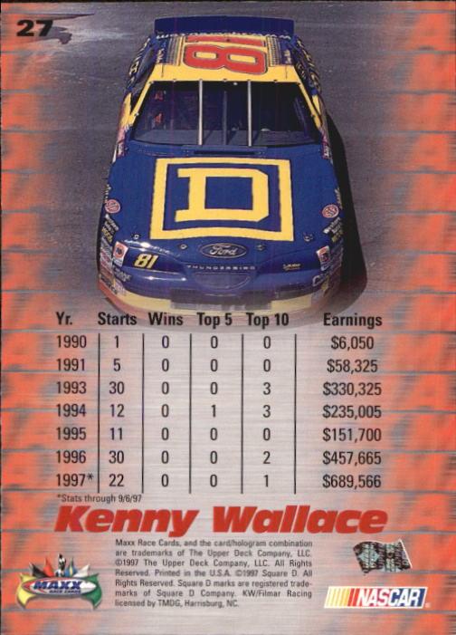 1997-Maxx-Auto-Racing-Cards-1-120-Rookies-A3252-You-Pick-10-FREE-SHIP thumbnail 55