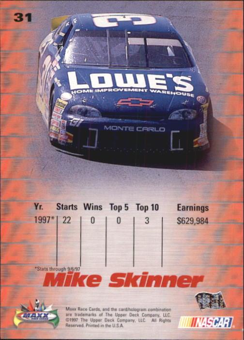 1997-Maxx-Auto-Racing-Cards-1-120-Rookies-A3252-You-Pick-10-FREE-SHIP thumbnail 63