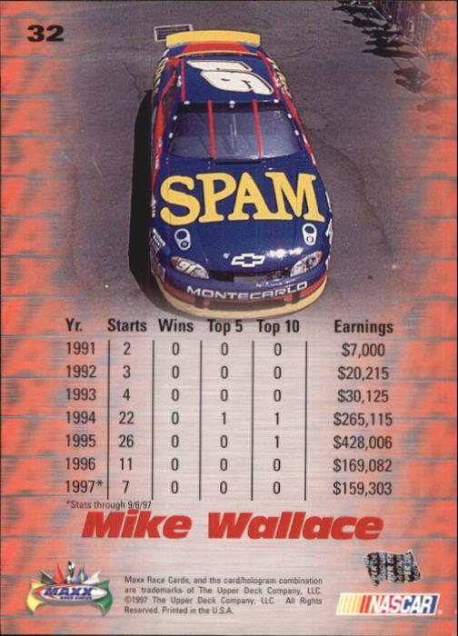 1997-Maxx-Auto-Racing-Cards-1-120-Rookies-A3252-You-Pick-10-FREE-SHIP thumbnail 65