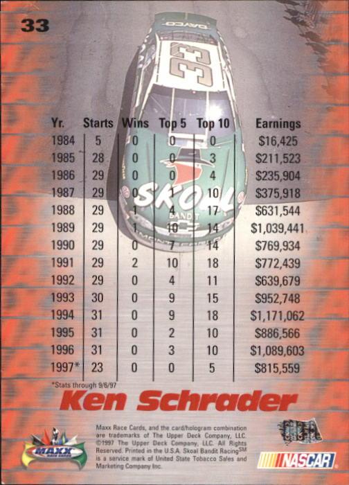 1997-Maxx-Auto-Racing-Cards-1-120-Rookies-A3252-You-Pick-10-FREE-SHIP thumbnail 67
