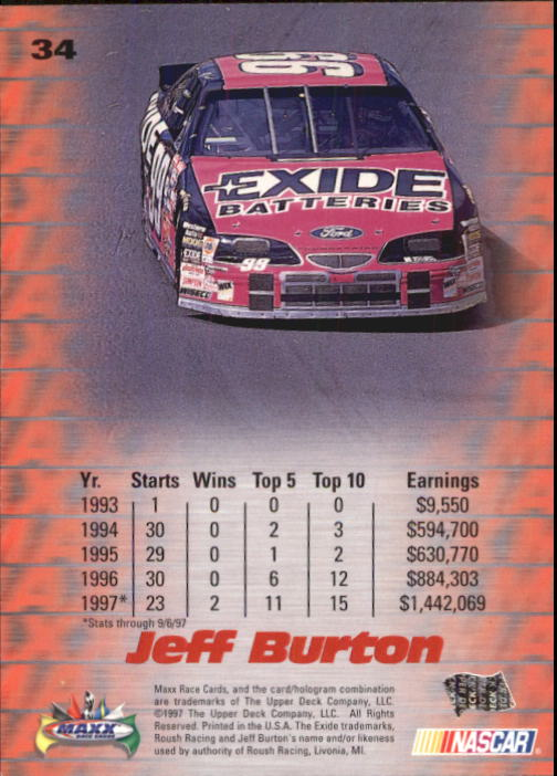 1997-Maxx-Auto-Racing-Cards-1-120-Rookies-A3252-You-Pick-10-FREE-SHIP thumbnail 69