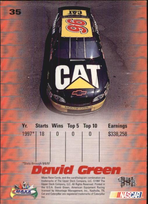 1997-Maxx-Auto-Racing-Cards-1-120-Rookies-A3252-You-Pick-10-FREE-SHIP thumbnail 71