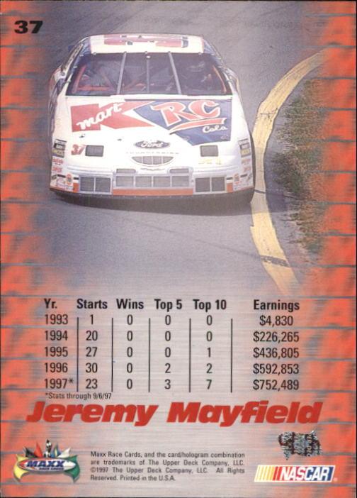 1997-Maxx-Auto-Racing-Cards-1-120-Rookies-A3252-You-Pick-10-FREE-SHIP thumbnail 75