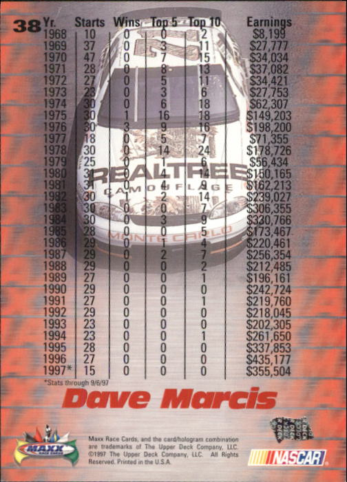 1997-Maxx-Auto-Racing-Cards-1-120-Rookies-A3252-You-Pick-10-FREE-SHIP thumbnail 77