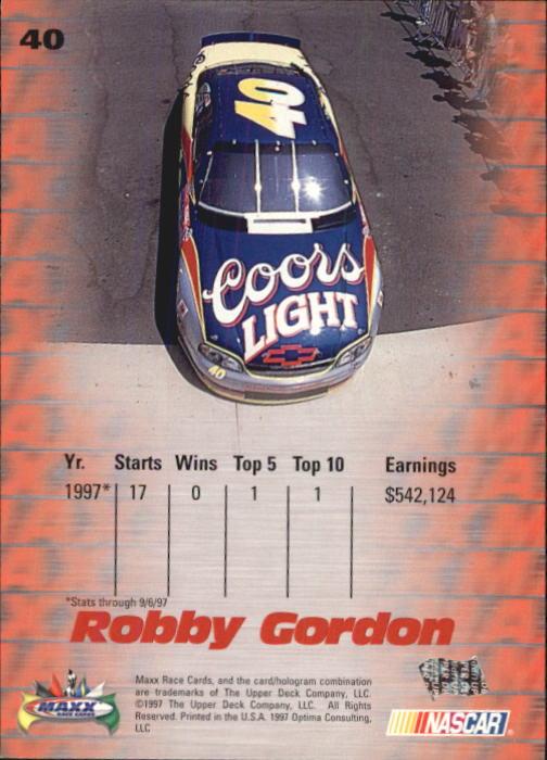 1997-Maxx-Auto-Racing-Cards-1-120-Rookies-A3252-You-Pick-10-FREE-SHIP thumbnail 81