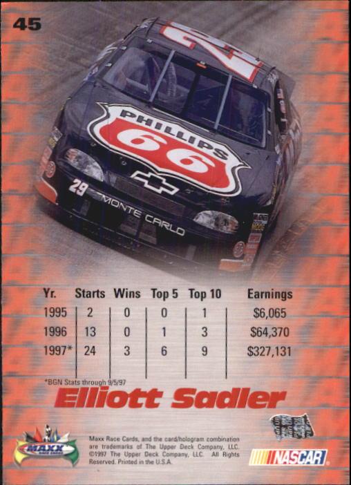 1997-Maxx-Auto-Racing-Cards-1-120-Rookies-A3252-You-Pick-10-FREE-SHIP thumbnail 91