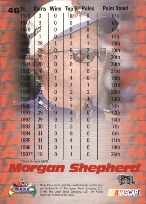 1997-Maxx-Auto-Racing-Cards-1-120-Rookies-A3252-You-Pick-10-FREE-SHIP thumbnail 93