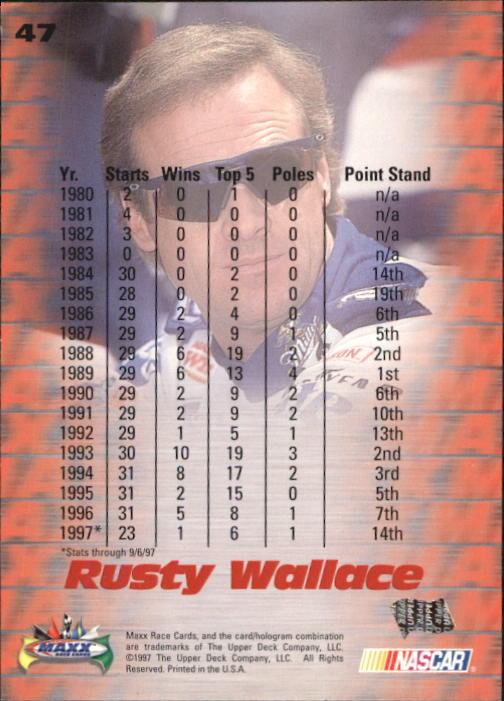 1997-Maxx-Auto-Racing-Cards-1-120-Rookies-A3252-You-Pick-10-FREE-SHIP thumbnail 95