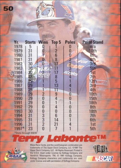 1997-Maxx-Auto-Racing-Cards-1-120-Rookies-A3252-You-Pick-10-FREE-SHIP thumbnail 101