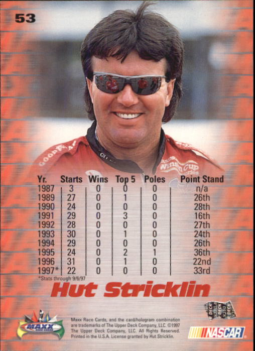 1997-Maxx-Auto-Racing-Cards-1-120-Rookies-A3252-You-Pick-10-FREE-SHIP thumbnail 107