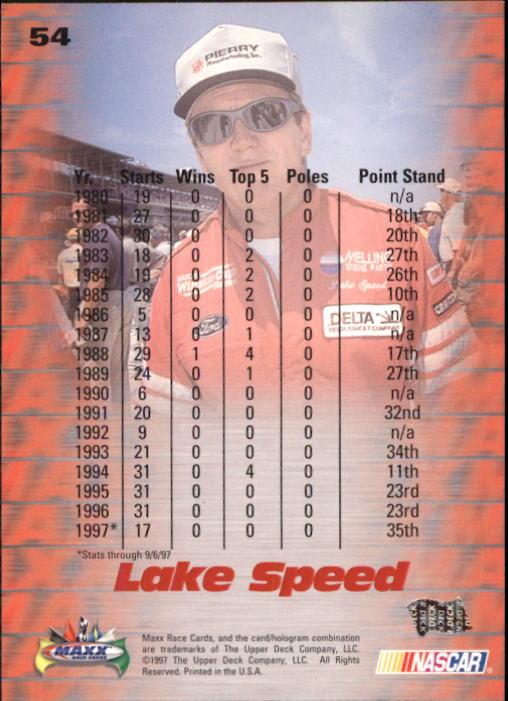 1997-Maxx-Auto-Racing-Cards-1-120-Rookies-A3252-You-Pick-10-FREE-SHIP thumbnail 109