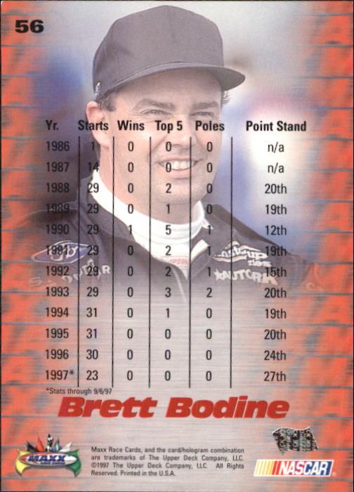 1997-Maxx-Auto-Racing-Cards-1-120-Rookies-A3252-You-Pick-10-FREE-SHIP thumbnail 113