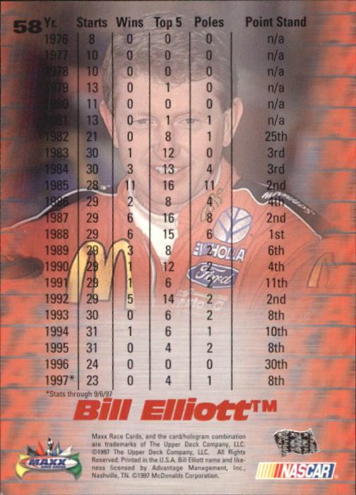 1997-Maxx-Auto-Racing-Cards-1-120-Rookies-A3252-You-Pick-10-FREE-SHIP thumbnail 117