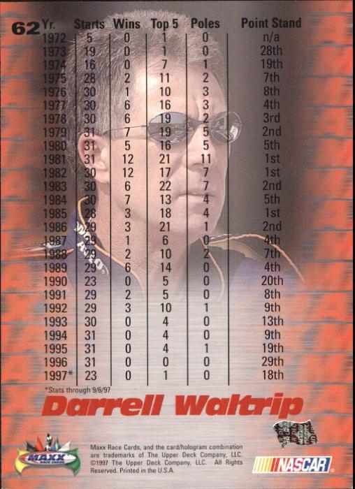 1997-Maxx-Auto-Racing-Cards-1-120-Rookies-A3252-You-Pick-10-FREE-SHIP thumbnail 125