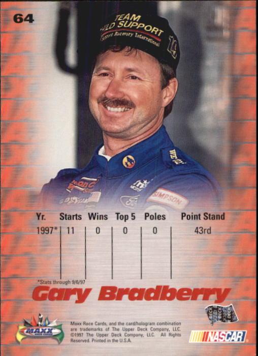 1997-Maxx-Auto-Racing-Cards-1-120-Rookies-A3252-You-Pick-10-FREE-SHIP thumbnail 129