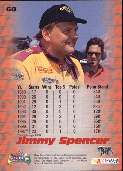 1997-Maxx-Auto-Racing-Cards-1-120-Rookies-A3252-You-Pick-10-FREE-SHIP thumbnail 137