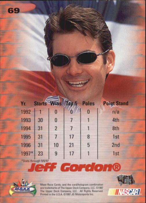 1997-Maxx-Auto-Racing-Cards-1-120-Rookies-A3252-You-Pick-10-FREE-SHIP thumbnail 139