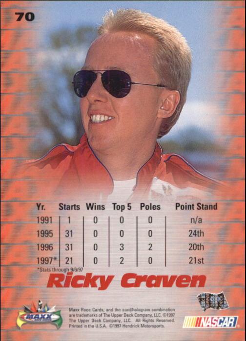 1997-Maxx-Auto-Racing-Cards-1-120-Rookies-A3252-You-Pick-10-FREE-SHIP thumbnail 141