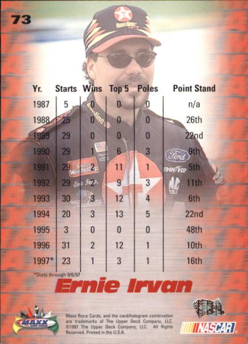 1997-Maxx-Auto-Racing-Cards-1-120-Rookies-A3252-You-Pick-10-FREE-SHIP thumbnail 147