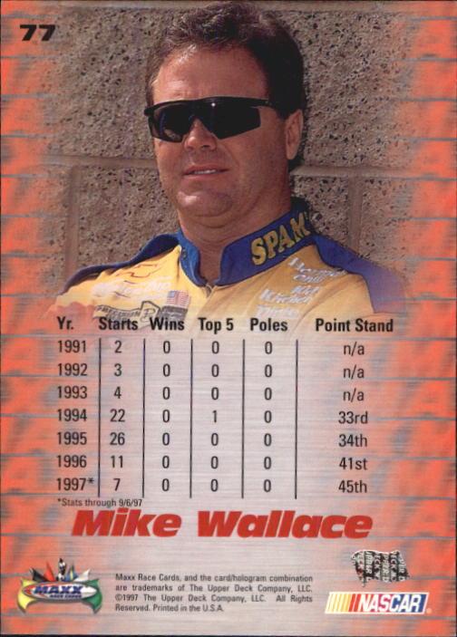 1997-Maxx-Auto-Racing-Cards-1-120-Rookies-A3252-You-Pick-10-FREE-SHIP thumbnail 153