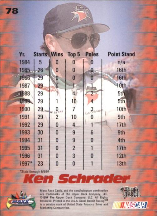 1997-Maxx-Auto-Racing-Cards-1-120-Rookies-A3252-You-Pick-10-FREE-SHIP thumbnail 155