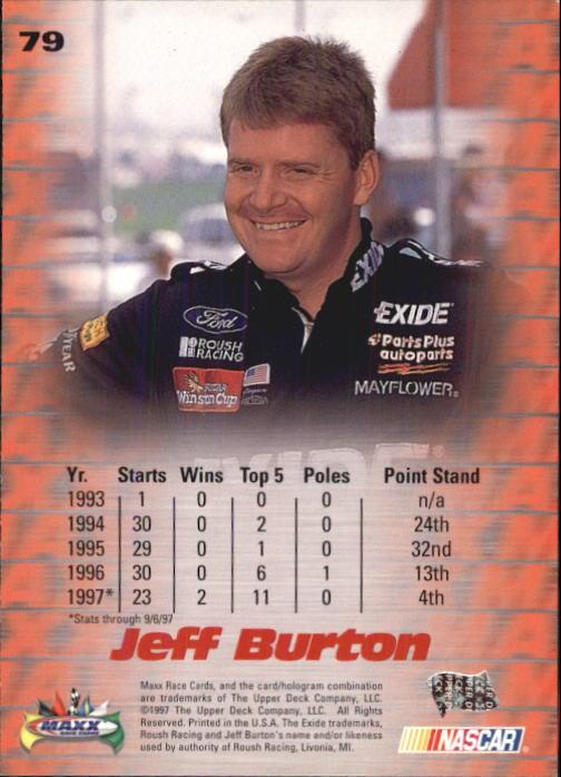 1997-Maxx-Auto-Racing-Cards-1-120-Rookies-A3252-You-Pick-10-FREE-SHIP thumbnail 157