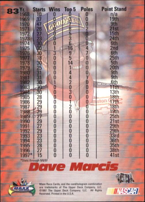1997-Maxx-Auto-Racing-Cards-1-120-Rookies-A3252-You-Pick-10-FREE-SHIP thumbnail 165