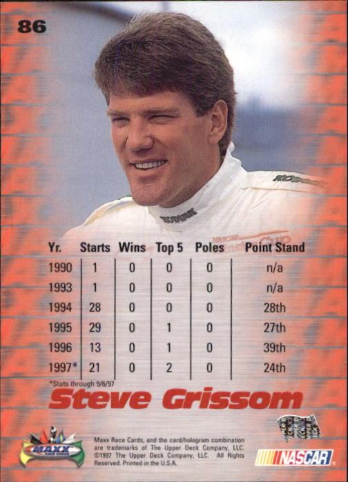 1997-Maxx-Auto-Racing-Cards-1-120-Rookies-A3252-You-Pick-10-FREE-SHIP thumbnail 171