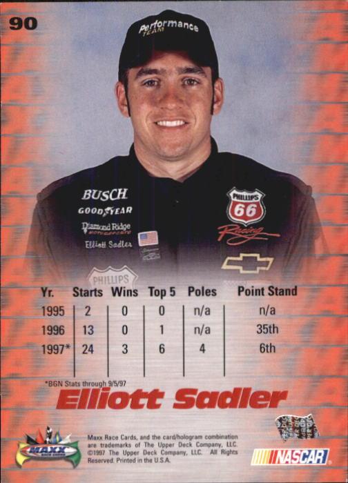 1997-Maxx-Auto-Racing-Cards-1-120-Rookies-A3252-You-Pick-10-FREE-SHIP thumbnail 179