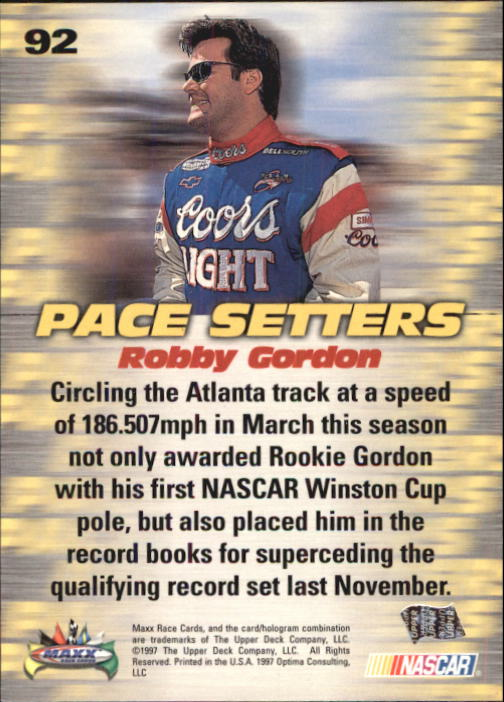 1997-Maxx-Auto-Racing-Cards-1-120-Rookies-A3252-You-Pick-10-FREE-SHIP thumbnail 183