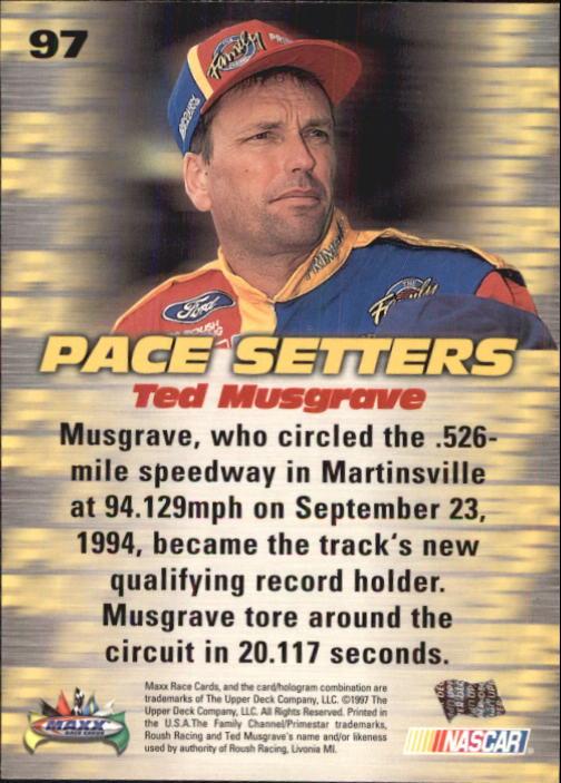 1997-Maxx-Auto-Racing-Cards-1-120-Rookies-A3252-You-Pick-10-FREE-SHIP thumbnail 193