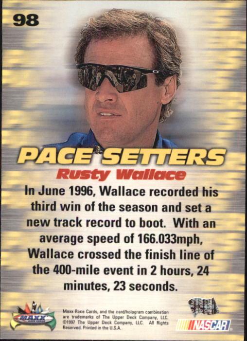 1997-Maxx-Auto-Racing-Cards-1-120-Rookies-A3252-You-Pick-10-FREE-SHIP thumbnail 195
