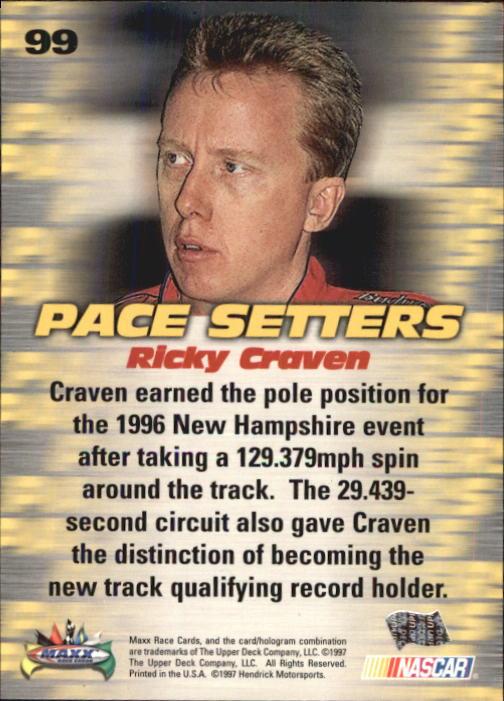 1997-Maxx-Auto-Racing-Cards-1-120-Rookies-A3252-You-Pick-10-FREE-SHIP thumbnail 197