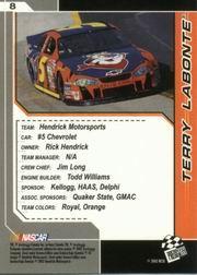 2002-Press-Pass-Trackside-Racing-Card-Pick thumbnail 17