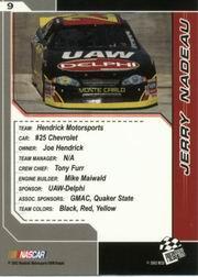 2002-Press-Pass-Trackside-Racing-Card-Pick thumbnail 19