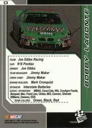 2002-Press-Pass-Trackside-Racing-Card-Pick thumbnail 27