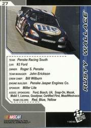 2002-Press-Pass-Trackside-Racing-Card-Pick thumbnail 55