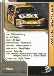 2002-Press-Pass-Trackside-Racing-Card-Pick thumbnail 61
